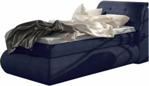 Επενδυμένο κρεβάτι Gustave με στρώμα και ανώστρωμα-120 x 200-Mple