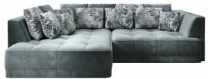 Γωνιακός καναπές Vianca-Αριστερή-Prasino