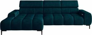 Γωνιακός καναπές Pallase mini-Αριστερή-Prasino
