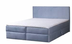 Επενδυμένο κρεβάτι Corneza με στρώμα-140 x 200