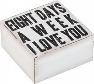 Κουτί αποθήκευσης Motto-Λευκό