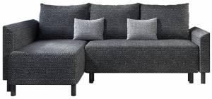 Γωνιακός καναπές Brest-Gkri skouro - Gkri anoixto