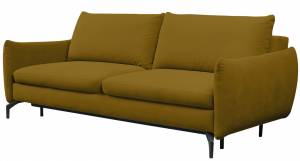 Καναπές τριθέσιος Dorimie-Moustardi