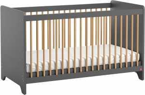 Κρεβάτι βρεφικό Leaf mini-Fusiko - Grafitis