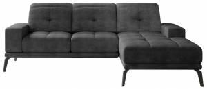 Γωνιακός καναπές Torrense-Anthraki-Δεξιά