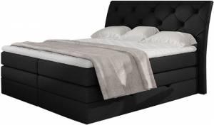 Επενδυμένο κρεβάτι Lorane-Mauro-160 x 200