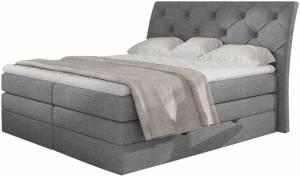 Επενδυμένο κρεβάτι Lorane-Gkri-160 x 200