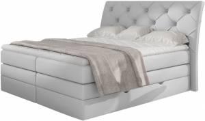 Επενδυμένο κρεβάτι Lorane-Leuko-160 x 200
