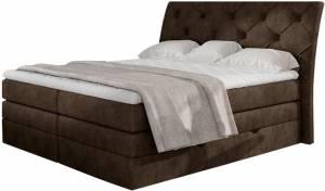 Επενδυμένο κρεβάτι Lorane-Kafe-140 x 200