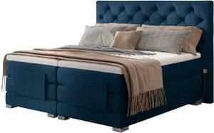 Επενδυμένο κρεβάτι Clover με στρώμα και ανώστρωμα-Mple-180 x 200
