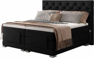 Επενδυμένο κρεβάτι Clover με στρώμα και ανώστρωμα-Mauro-160 x 200
