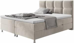 Επενδυμένο κρεβάτι Dave-Mpez-140 x 200
