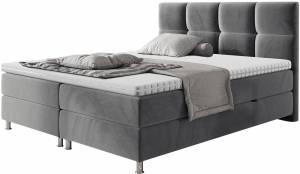 Επενδυμένο κρεβάτι Dave-Gkri-160 x 200