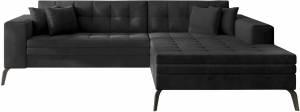 Γωνιακός καναπές Gessola-Δεξιά-Anthraki