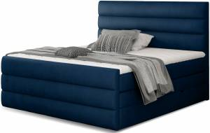Επενδυμένο κρεβάτι Caribou-Mple-140 x 200