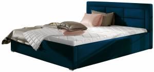 Επενδυμένο κρεβάτι Ross-180 x 200-Mple-Χωρίς μηχανισμό ανύψωσης