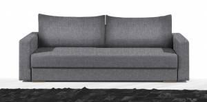 Καναπές Kleio Τριθέσιος-215φ 80β εκ.-Γκρι