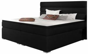 Επενδυμένο κρεβάτι Victoria με στρώμα και ανώστρωμα-180 x 200-Mauro
