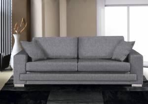 Καναπές Matrix Διθέσιος-165φ 90β εκ-Γκρι