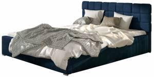 Επενδυμένο κρεβάτι Grady-140 x 200-Χωρίς μηχανισμό ανύψωσης-Mple