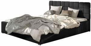 Επενδυμένο κρεβάτι Grady-140 x 200-Χωρίς μηχανισμό ανύψωσης-Mauro