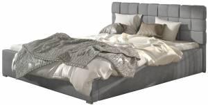 Επενδυμένο κρεβάτι Grady-160 x 200-Χωρίς μηχανισμό ανύψωσης-Gkri