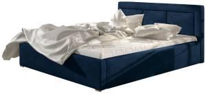 Επενδυμένο κρεβάτι Belluga-Mple-160 x 200-Χωρίς μηχανισμό ανύψωσης