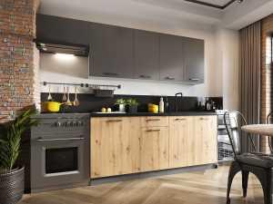 Σύνθεση κουζίνας Clara-Μήκος: 180 εκ.
