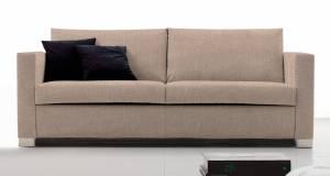 Καναπές Smart  Διθέσιος-120φ 90β εκ.-Μπεζ
