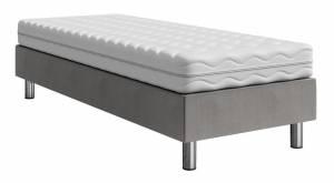 Επενδυμένο κρεβάτι Lux-Baza-Gkri-200 x 80 x 30