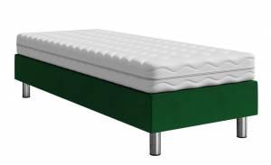 Επενδυμένο κρεβάτι Lux-Baza-Prasino-200 x 90 x 30