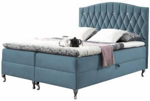 Επενδυμένο κρεβάτι Puerto-Galazio-140 x 200 εκ.