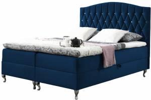 Επενδυμένο κρεβάτι Puerto-Mple-140 x 200 εκ.