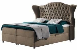 Επενδυμένο κρεβάτι Livia-Kafe-120 x 200 εκ.
