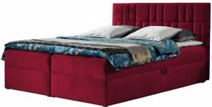 Επενδυμένο κρεβάτι Top 3-Kokkino-140 x 200 εκ.