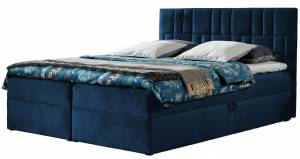 Επενδυμένο κρεβάτι Top 3-Mple Skouro-120 x 200 εκ.