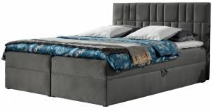 Επενδυμένο κρεβάτι Top 3-Gkri-140 x 200 εκ.