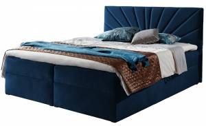 Επενδυμένο κρεβάτι Top 4-Mple Skouro-140 x 200 εκ.