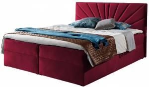 Επενδυμένο κρεβάτι Top 4-Kokkino-140 x 200 εκ.