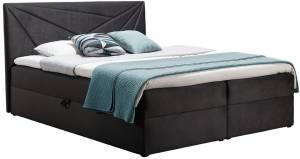 Επενδυμένο κρεβάτι Top 5-Gkri Skouro-140 x 200 εκ.