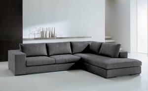 Γωνιακός καναπές Carla-Αριστερή-260φ 200β-Γκρι
