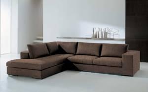 Γωνιακός καναπές Carla-Δεξιά-260φ 200β-Σοκολατί