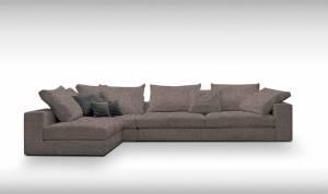 Γωνιακός καναπές Loft-Προσαρμόσιμη-295φ 165β εκ.-Staxti
