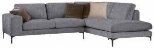 Γωνιακός καναπές Senso-Αριστερή-250φ 180β εκ.-Γκρι
