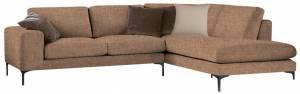 Γωνιακός καναπές Senso-Αριστερή-250φ 180β εκ.-MInk