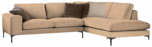 Γωνιακός καναπές Senso-Αριστερή-250φ 180β εκ.-Sand