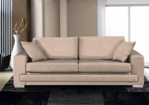 Καναπές Matrix Τριθέσιος-210φ 90β εκ.-Μπεζ