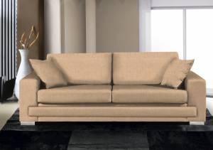 Καναπές Matrix Τριθέσιος-210φ 90β εκ.-Sand