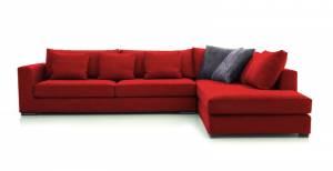Γωνιακός καναπές Air-Αριστερή-270φ 210β-Κόκκινο