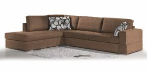 Γωνιακός καναπές Must-Δεξιά-295φ 230β εκ.-MInk